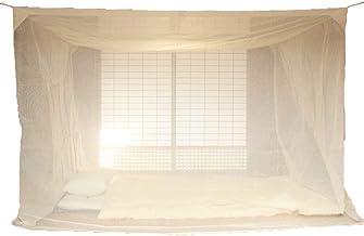 国産 蚊帳 綿 3畳用 生成 日本製 綿100%