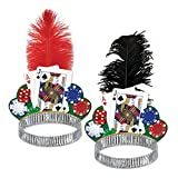 Beistle Casino Night Tiaras - 1 Assorted Color