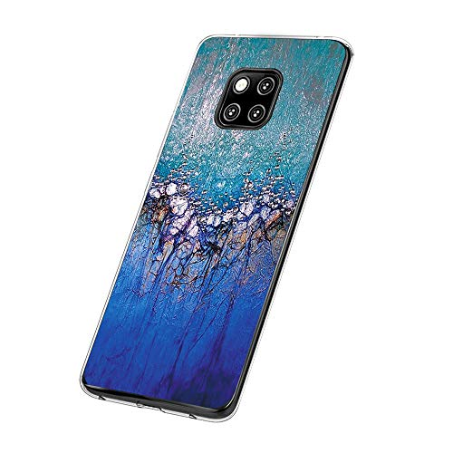 Huawei Mate 20 Pro Hülle,Huawei Mate 20 Case TPU Transparent Silikon Flexibel Ultra dünn Weicher Bumper Anti-Scratch Case für Mate 20 Lite Hülle (Huawei Mate 20, 5)