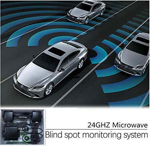 CarBest Radar Based Blind Spot Sensor and Rear Cross Traffic Alert System, BSD, BSM, 24GHZ Microwave Radar Blind Spot Detection System