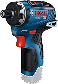 Bosch Professional 06019J9103 12V System GSR 12V-35 HX Cordless Drill/Driver (Without Rechargeable Battery and Charger, in...
