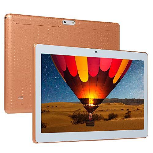 tablet PC Procesador Quad-Core de 10 Pulgadas PC 16GB ROM y 1GB RAM Cámara de 2MP y 0.3MP Android 5.1 WiFi 1280 * 800 Pantalla IPS GPS Bluetooth FM