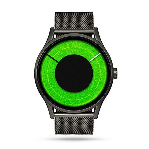Ziiiro Solaris acciaio unisex orologi Gunmetal–Chill