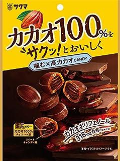 サクマ製菓 噛む×高カカオ 62g×6袋