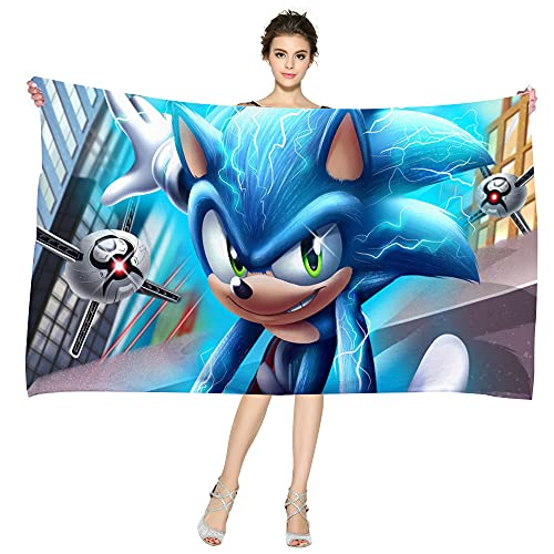 NICHIYO Sonic The Hedgehog - Póster de película Sonic (22,100 x 200 cm)