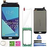 Samsung Galaxy J727 LCD Display Screen Replacement Touch Digitizer Assembly 5.5' for J7 Prime 2017 J727U SM-J727T SM-J727T1 J727R4 J727V J727P Sky Pro SM-J727A SM-J727VL J7 2017 Perx J727PZKASP(Black)