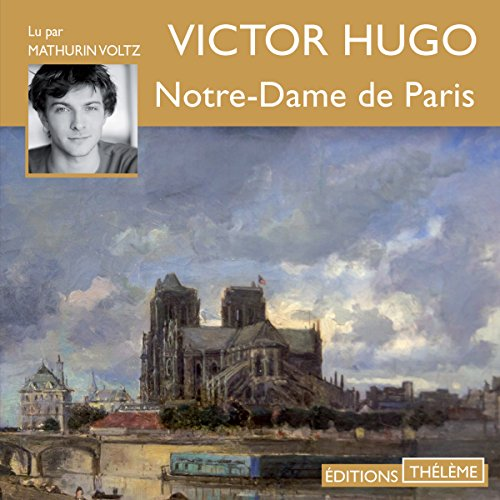 Notre-Dame de Paris audiobook cover art