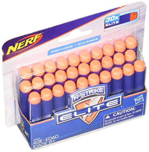 Nerf Dardos Elite, 30 Pack