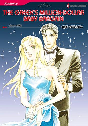 The Greek's Million-Dollar Baby Bargain: Harlequin comics (English Edition)