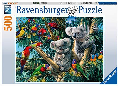 Ravensburger Puzzle 14826 - Koalas im Baum - 500 Teile Puzzle für Erwachsene und Kinder ab 10 Jahren, Puzzle mit Tier-Motiv