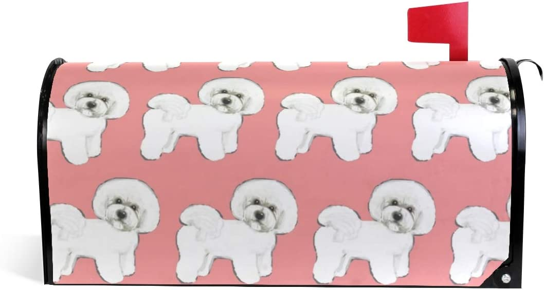 Fall Festive Gathering Mailbox Covers Bichon Frise to Brittany Spaniel Dog Available in Over 90 Breeds!