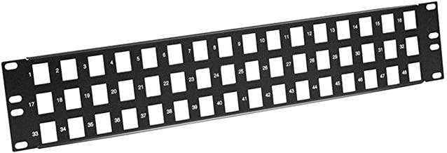 Monoprice Keystone Jack Panel 48 Ports 108630