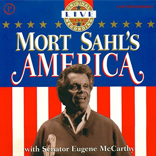 Mort Sahl's America audiobook cover art