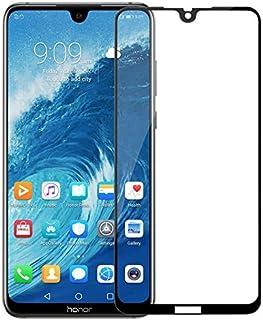 واقي شاشة 9H Glass For Honor 8X Max من الزجاج المقسى لحماية الشاشة لون أسود