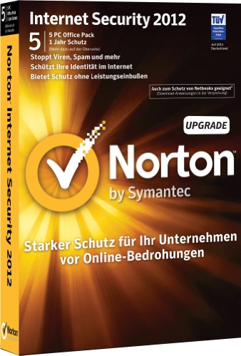 Norton Internet Security 2012 - 5 User Upgrade