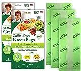 Debbie Meyer GreenBags 40-Pack (16M, 16L, 8XL) – Keeps Fruits,...