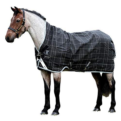Horseware Rhino WUG 0g Lite Regendecke Black/Grey (160)