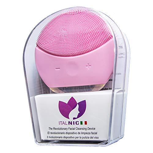 Cepillo de limpieza facial profesional eléctrico de silicona con vibración sónica, impermeable,...