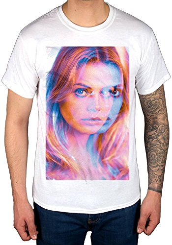Official StudioCanal The Wickerman Britt Ekland T-Shirt White
