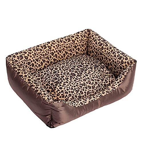 ZISTA Hondenbedden Waterdichte Cozy Pet Hondenmand Cat Kenel verwijderbare matras voor puppy's Big Animals Bulldog Teddy, B, M