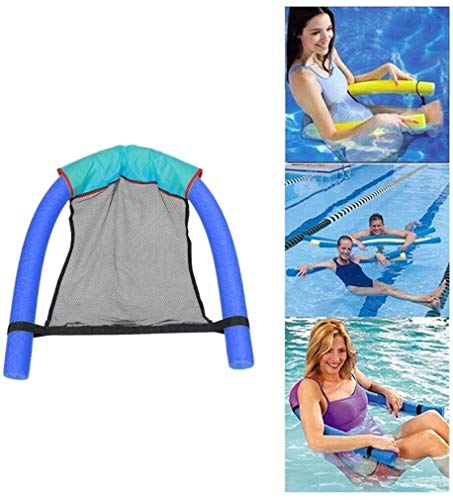 XKstyle Summer Fashion Folding Pool, Inflatable Cushions Kickboard Adult Children's Pool Floating Chairs, Portable Water Mattress Floating in A Hammock Line