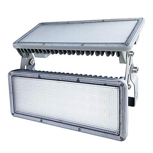 Rugging 100W LED Strahler Flutlicht LED Flutlicht LED Flutlichter LED Lichter Flutlicht LED Außen LED Fluter LED 100W LED-Flutlicht LED Licht 6500K IP67 Für Gärten Garagen Lagerhäuser