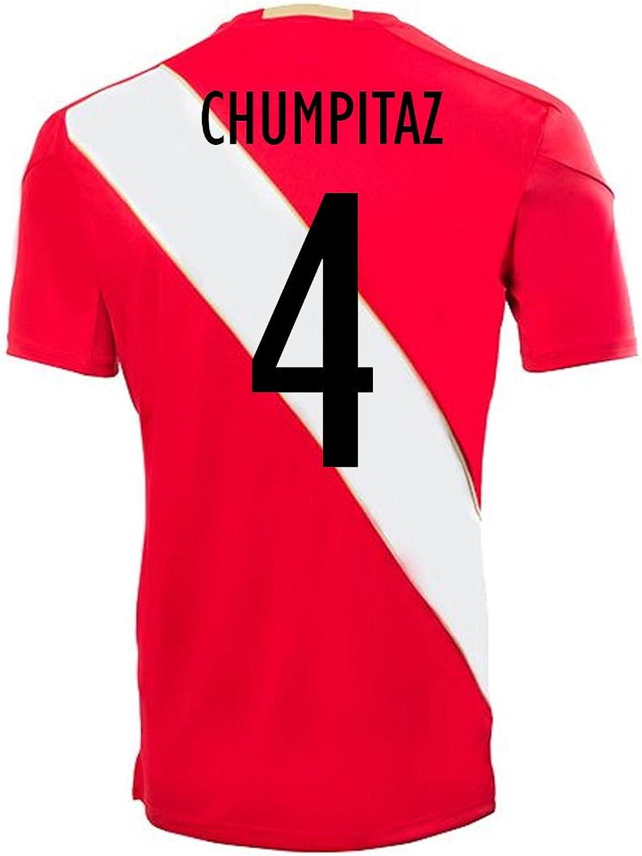 Umbro CHUMPITAZ  4 Peru Away Soccer Jersey World Cup Russia 2018
