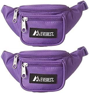 Everest Signature Fanny Pack Junior Dark Purple Set of 2