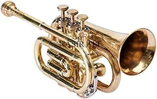 Nasir Ali PoTr-05, Pocket Trumpet, Bb, Brass