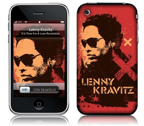 Stencil Red Ipod Touch 2