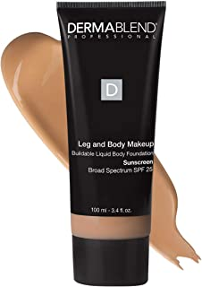Dermablend Leg and Body Makeup, with SPF 25. Skin Perfecting Body Foundation for Flawless Legs with a Smooth, Even Tone Fi...