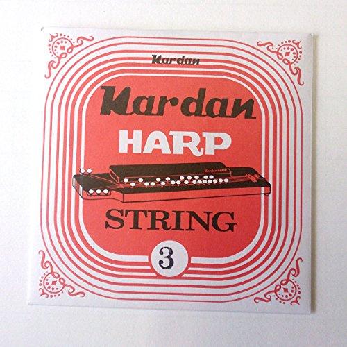ナルダン 大正琴弦 レギュラー弦 バラ弦 3番線(鉄線)