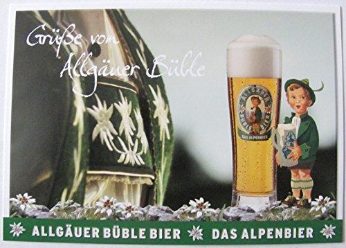Allgäuer Brauhaus - Büble Bier - Grüße von Allgäuer Büble - Postkarte - Motiv 16