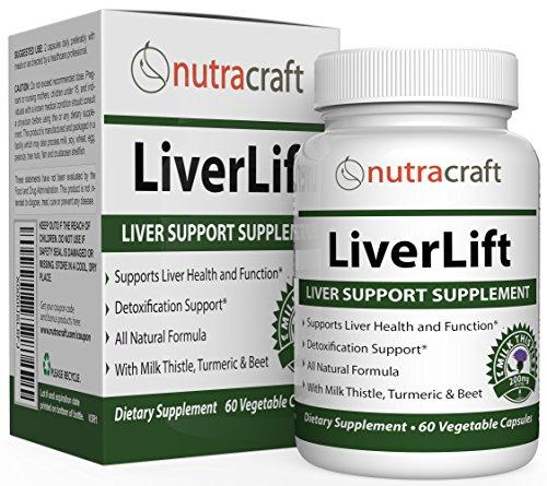 Liver Cleanse & Detox Supplement - Advanced Milk Thistle Formula with Silymarin, Turmeric, Beet, Dandelion, Chicory, Burdock, Artichoke and More - 60 Vege Capsules