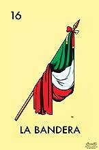 16 La Bandera Flag Loteria Card Mexican Bingo Lottery Cool Wall Decor Art Print Poster 12x18