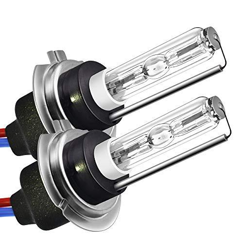 PMWLKJ Hid Xenon-Scheinwerfer H7 35w 55w Scheinwerferlampe 4300k 5000k 6000k 8000k 10000k 12000k Lampe (nicht mitgelieferte Vorschaltgeräte) 8000 K 35W