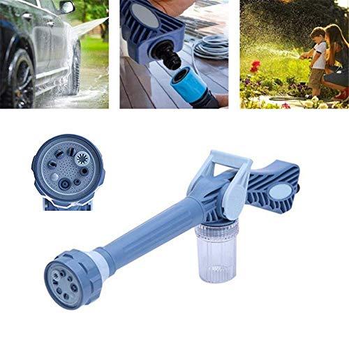 Reeseiy 8 In 1 Blasendüse Spray Bewässerungspistole Garten Rasen Auto Chic Werkzeug Multifunktionale Hausgarten Auto Reinigung Jet Wasserwerfer Turbo Sprayer Werkzeug (Color : Colour, Size : Size)