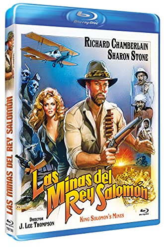 Las Minas del Rey Salomón BD 1985 King Solomon's Mines [Blu-ray]