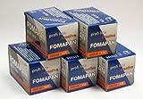 200 asa Fomapan blanco y negro 35 mm de la exposición con 36 Protector de pantalla , 5 unidades