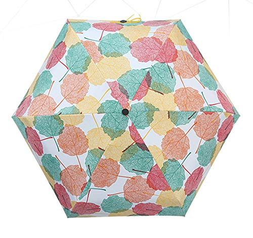 Regenschirm Leichte Ultra Mini Sonnenschirm Zusammenklappbare Tasche Sonne Ultra Leicht Anti-uv Taschenregenschirm E1