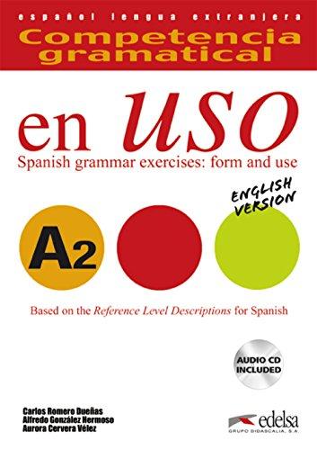 Competencia gramatical en uso A2 - libro del alumno + CD - Versión inglesa: Libro + CD - English version A2 (Gramática - Jóvenes y adultos - Competencia gramatical en uso - Nivel A2)