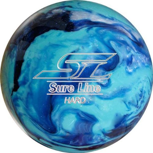 (ABS) ボウリングボール シュアラインハード ブルー 14ポンド 【スペアボール】