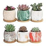 Macetas de plantas 1 set Fashion Owl Flower Pot Planta Pozo Patrón Creativo Durable Flor Potes Planta Potes Potes de Caracol Potes Cerámica Plantador Para todas las plantas de la casa, flores, hierbas