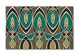 Papier peint mural luxe moderne haut de gamme, clair, fond géométrique abstrait @ 430 × 300CM_9_stripes