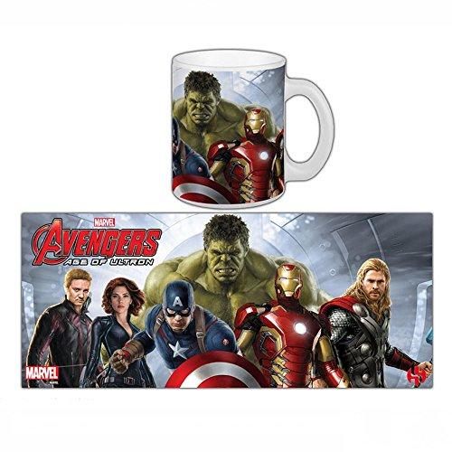 Semic Distribution - Smug079 - Ameublement Et Décoration - Mug Avengers 2 : Age of Ultron - Groupe 1 Cap