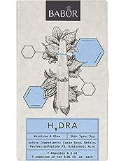 BABOR AMPOULE CONCENTRATES HYDRA, gelimiteerde Ed. 2021, met hyaluronzuur, extra vocht en meer uitstraling, tegen droogheidsrimpels, 14 ml
