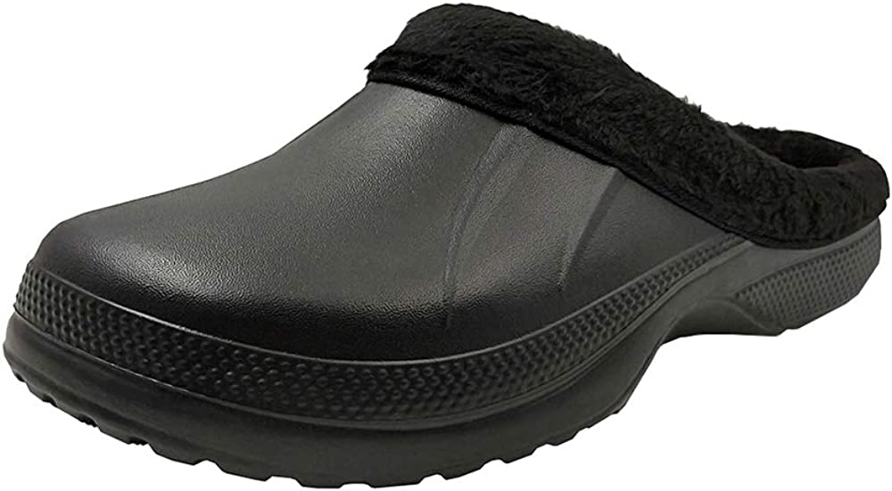 WBuffalo Unisex Lined Clogs Winter Slippers House Shoes
