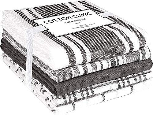 Top 10 Best Selling List for grey and white kitchen towels
