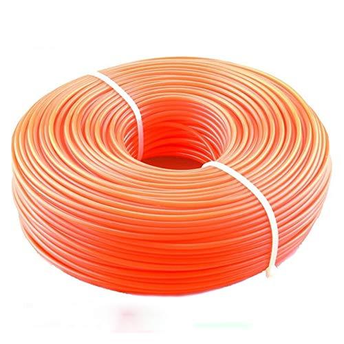 GSZPXF 2,4 mm / 2,7 mm / 3 mm 1LB Cortadora de cesped Línea Strimmer Desbrozadora Trimmer Nylon de la Cuerda Cable de línea de la Cuerda Larga línea Redondo/Cuadrado Rollo de césped (Color : Blue)