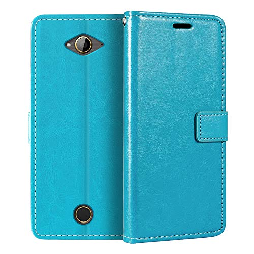 Acer Liquid Z530 Wallet Case, Premium PU Leather Magnetic Flip Case Cover with Card Holder and Kickstand for Acer Liquid Z530